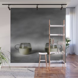 Still life with a cup of milk Wall Mural