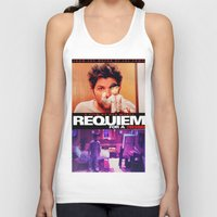 parks and rec Tank Tops featuring Requiem for a Tuesdays Movie Poster (Parks and Rec) by Catofnimes