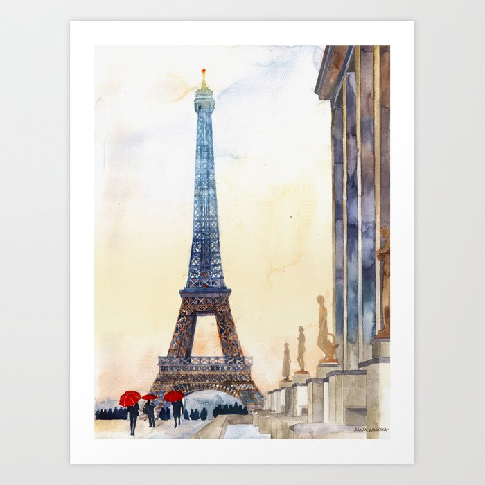 Morning in Paris Art Print