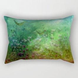 """The Enchanted Forest"" (Fairyland) Rectangular Pillow"