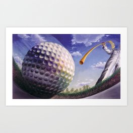 Twelfth Hole at Augusta Art Print