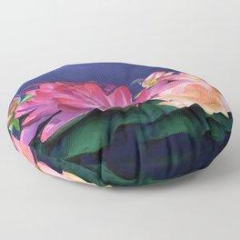 The Purity of Lotus Floor Pillow
