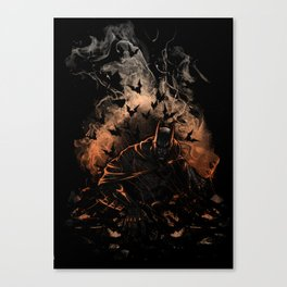 Arising after a fall Canvas Print