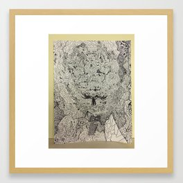 Interdimensional Framed Art Print