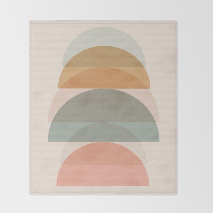 Geometric 01 Throw Blanket