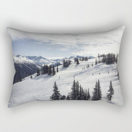 Whistler Mountain Canada  Rectangular Pillow