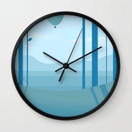 Go Ballooning Wall Clock