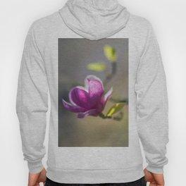 Dark pink magnolia flower Hoody