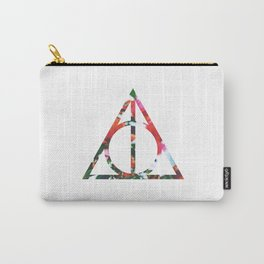 The Deathly Floral Hallows Carry-All Pouch