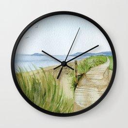 Inverness Beach Wall Clock