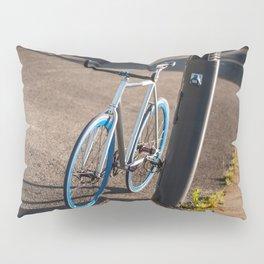 Bike on Harbor 2 Pillow Sham