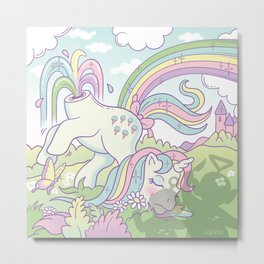 My little pony Metal Print