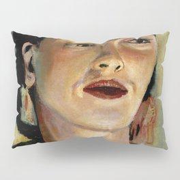 Portrait of Frida the Dove Pillow Sham