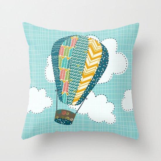 Float Away Throw Pillow