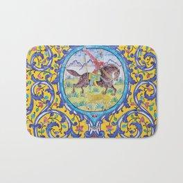 Iranian tiles Bath Mat