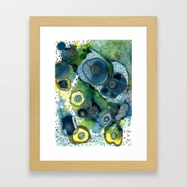 Anemone Fields Framed Art Print