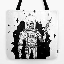 Intergalactic Bone Man Tote Bag
