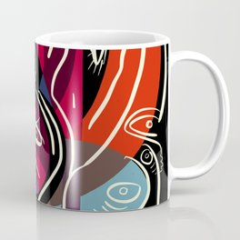 Street Art World of Monsters in the Morning Coffee Mug
