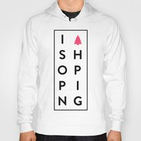 shopping Hoodies featuring shopping by Peter Roquemore