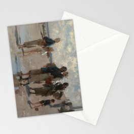 Fishing for Oysters at Cancale - John Sargent Stationery Cards