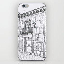 Alcalá Street iPhone Skin