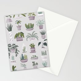 I Love Plants! Succulent Collection Stationery Cards