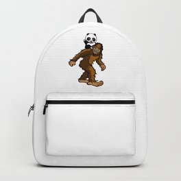 Gone Squatchin with Panda Backpack