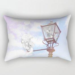 Wondering Why? Rectangular Pillow