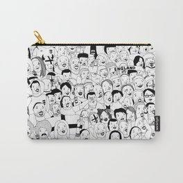 WHAT ARE YOU LOOKING AT? (England Ver.) Carry-All Pouch
