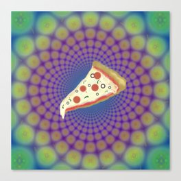 Pizza Party Betches Canvas Print