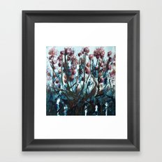 day and night detail Framed Art Print