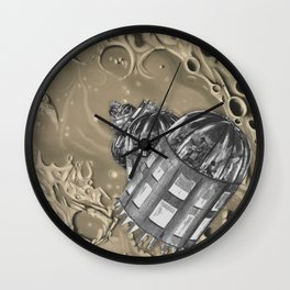 Time-lapse of the Cascade Wall Clock