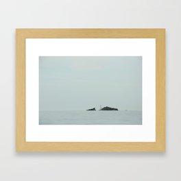Dali's view Framed Art Print
