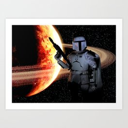 Bounty Hunter Art Print