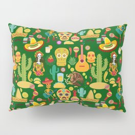 Fiesta Time! Mexican Icons Pillow Sham