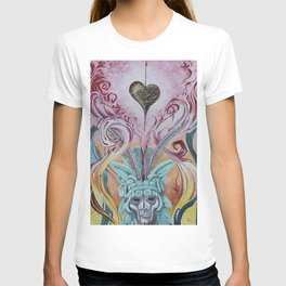 Lava heart ala Aztec T-shirt