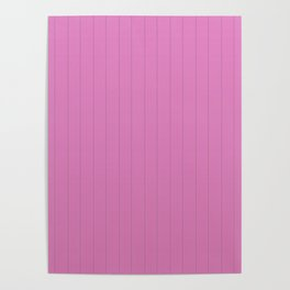 Dva Basic Stripes Pink Skin Poster