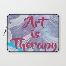 Art Is Therapy Laptop Sleeve
