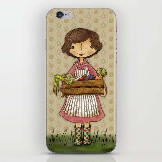 Anna the Farmer iPhone & iPod Skin