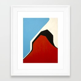 number 6 Framed Art Print