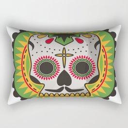 Sugar Skull Rectangular Pillow
