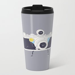 Old Skool Cam Metal Travel Mug