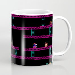 Donkey Kong Retro Arcade Gaming Design Coffee Mug