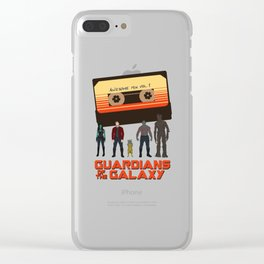 GUARDIANS OF THE GALAXY Clear iPhone Case