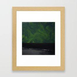 Untitled (Black Sea) Framed Art Print