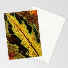Leaf Veins III Stationery Cards