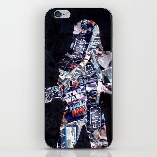 Cut StarWars Blister Collage 3 iPhone & iPod Skin