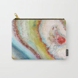 AGATE Inspired Watercolor Abstract 01 Carry-All Pouch