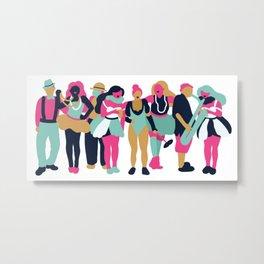 nola Metal Print