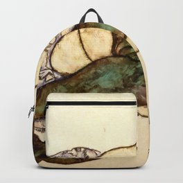 "Egon Schiele ""Reclining Woman with Green Stockings"" Backpack"
